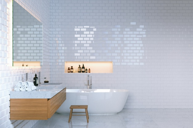 Keramika za kopalnico v sivih barvi